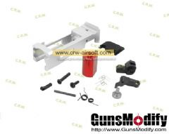 GunsModify New CNC TM G17 RMR Zero Blow Back Housing Set